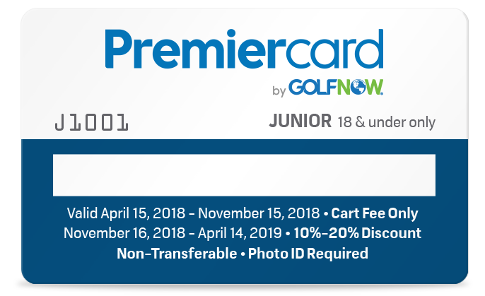 Junior South Florida Premier Card