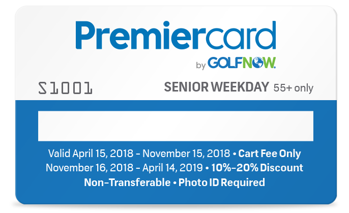 Senior South Florida Premier Card