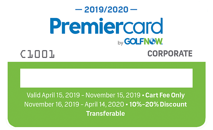Corporate South Florida Premier Card